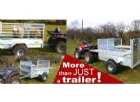 Quad Stock Trailer Folding Sides | Folding Sides Quad X Trailer